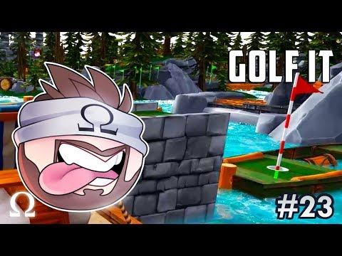 DON'T PUTT IT IN THE WRONG HOLE! |  Golf It Funny Moments #23 Ft. Ze, Squirrel, Satt