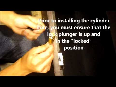 Best Lock core Installation