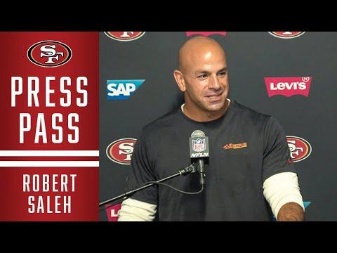 Robert Saleh: 49ers Defense is 'Relentless'