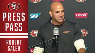 The 49ers defensive coordinator broke down defense's strong week 6 performance in los angeles.#49ers #robertsaleh #defensesubscribe to san francisco ...