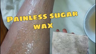 How To Make Sugaring Wax For Hair Removal | Painless Wax