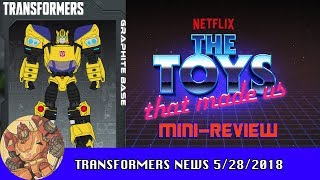 New Evergreen Images For Transformers! Toys That Made Us Episode Mini Review!