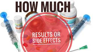 HOW MUCH RESULTS OR SIDE EFFECTS YOU CAN GET???- Dr. NIKHIL TARI'S EXPLANATIONS