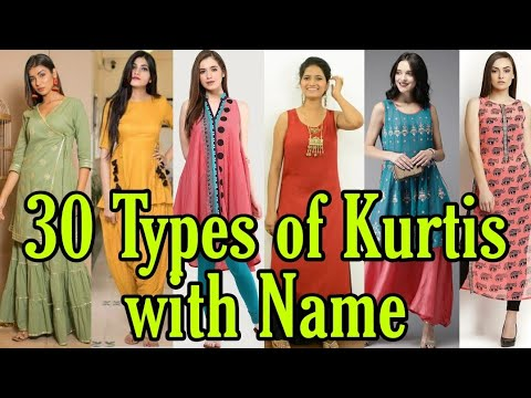 Top 30 designer kurti 2020 Types of Kurti for girls Latest Kurti Design 2020 Latest Kurti name