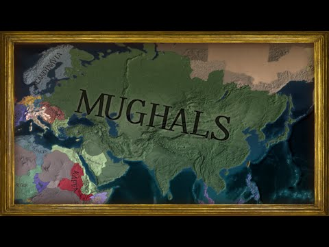 EU4 - Timelapse - Rise of my Mughal Empire