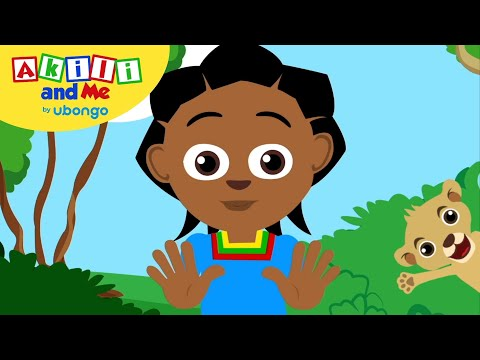 Hands And Feet!   Akili And Me    Cartoons For Preschoolers
