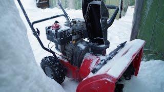 снегоуборщик MTD замена масла в двигателе_ 21.02.2017 _ mtd 31A 3CAD700