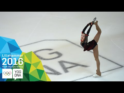 Figure Skating - Polina Tsurskaya (RUS) wins Ladies' gold | ​Lillehammer 2016 ​Youth Olympic Games