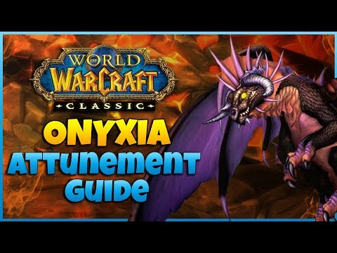 FULL Onyxia Attunement Guide - Alliance |  A Step By Step Quest Guide | WoW Classic 1.13