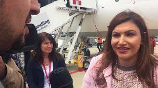 Air Italy B737MAX8 - Intervista TV Akbar Al Baker