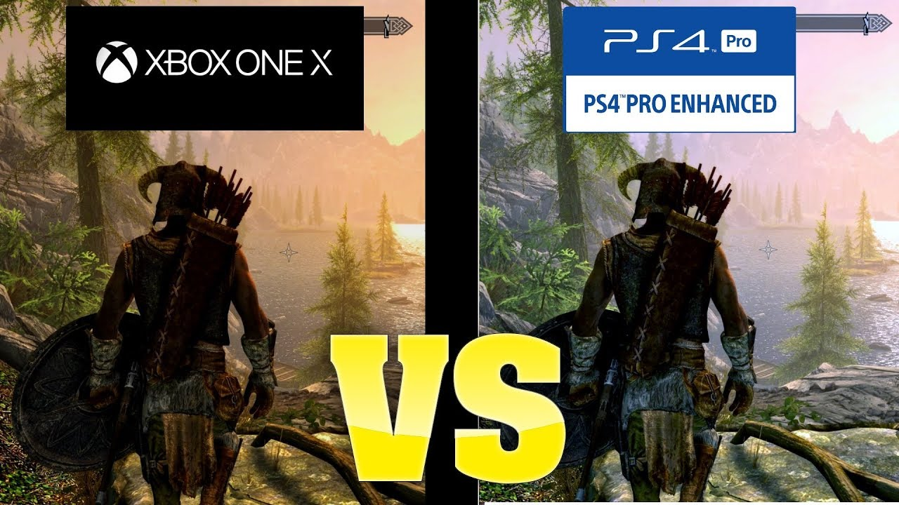 The elder scrolls online ps4 pro vs xbox one x