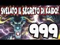SVELATO IL SEGRETO DI KAIDO! || ONE PIECE REPODCAST: CAPITOLO 999