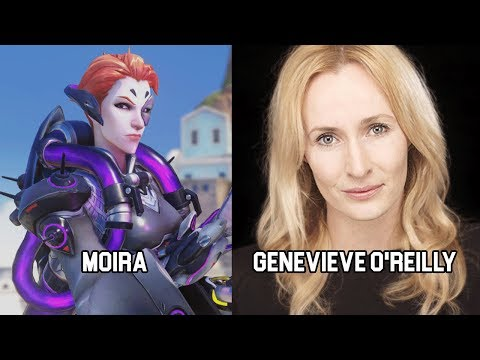 Characters and Voice Actors  Overwatch Update 4