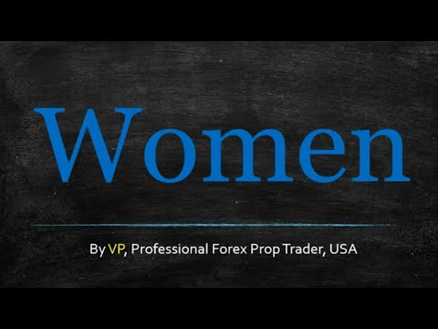 More Women Should Trade Forex
