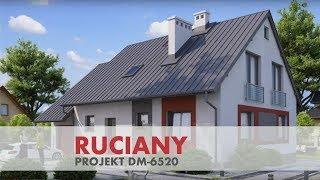 Projekt domu Ruciany - DM 6520