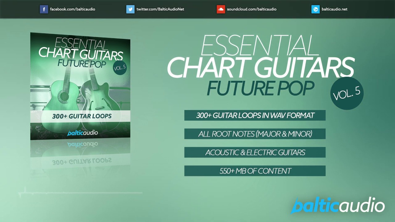 Essential Chart Guitars Vol 5 - Future Pop (300+ guitar loops in wav)
