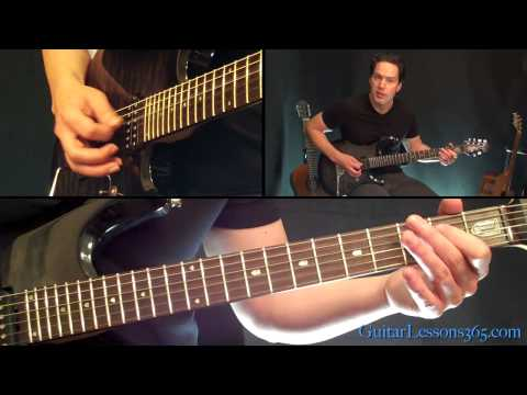 Cowboys From Hell Guitar Lesson - Pantera - Famous Riffs