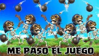 ME HE PASADO EL JUEGO | Plenos con todo bombarderos | Clash of Clans of TheAlvaro845 | Español