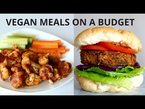 VEGAN MEALS ON A BUDGET (UNDER $3)