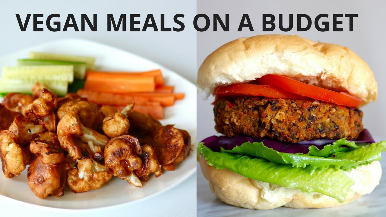 Vegan Meals On A Budget Under 3 Youtube