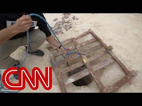 CNN goes inside secret militant tunnels