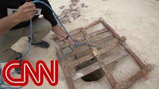 CNN goes inside secret militant tunnels