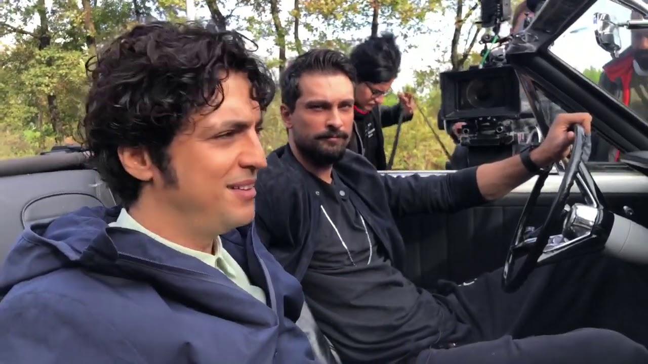 Ferman hoca ve Ali vefa araç çekimi (low loader)  kamera arkası  mucize doktor 🥼