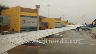 Ladakh to Delhi on a rainy day: Kushok Bakula Rimpochee Airport and Delhi airport