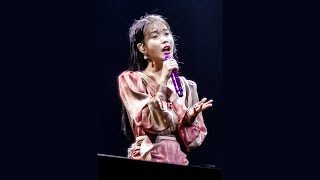 191207 Lean on Me, All About You, Remember Me (Hotel Del Luna OST) - IU Love Poem in Singapore