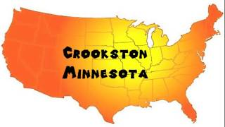 How to Say or Pronounce USA Cities — Crookston, Minnesota