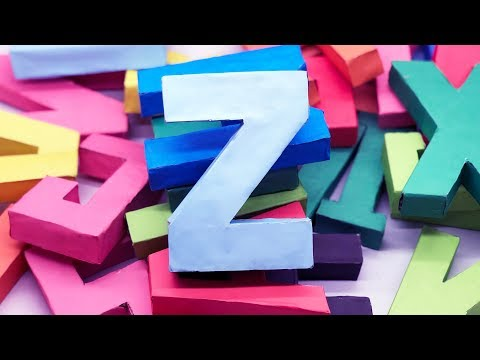 Origami 3D Alphabet Letters Making by Paper | Letter DIY | 5 Minutes Crafts & Toys