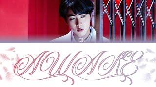 Download BTS Jin - Awake Color Coded Lyrics