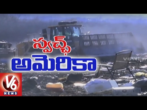 Swachh America | Special Report On Irving Landscape Waste Management | Texas | V6 USA NRI News