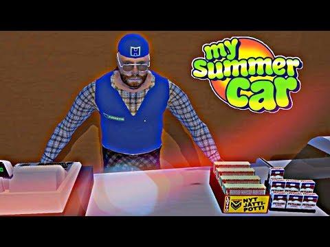 DÍA DE COMPRAS Y NOCHE TENEBROSA ⭐️ My Summer Car #2 | iTownGamePlay