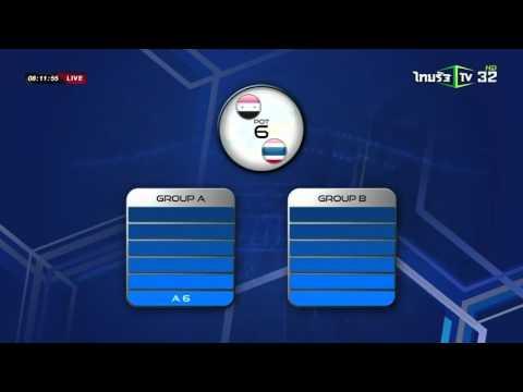 ลุ้นจับสลากฟุตบอลโลก 12 ทีมเอเชีย   12-04-59   เช้าข่าวชัดโซเชียล   ThairathTV