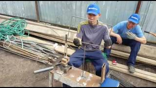 видео Арматурный каркас ленточного фундамента