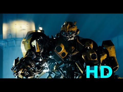Bumblebee vs. Barricade - Transformers-(2007) Movie Clip Blu-ray HD Sheitla