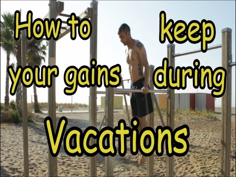 Vacation Workout Keep Your Gains On Vacation