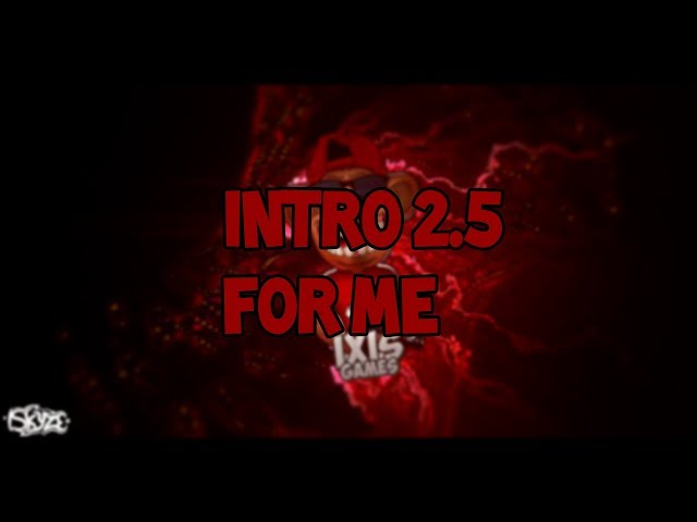 INTRO #2 BY ISKYZE FOR IXIS 1080p60