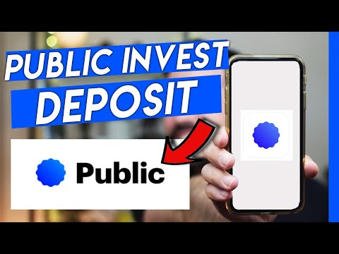 How To Deposit Money on the Public Investing App