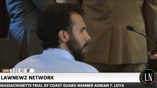 Adrian Loya Trial Loya Admonished for Incident in Court 09/08/17