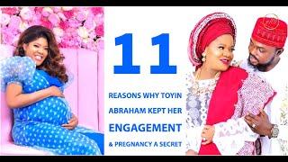 Reasons Why Toyin Abraham Kept Her Engagement & Pregnancy ASecret?