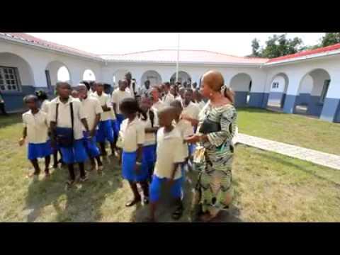 ÉCOLE PRIMAIRE D'OYO AU CONGO BRAZZAVILLE.
