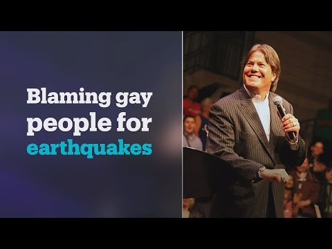 NZ bishop Brian Tamaki says earthquake caused by sinners, homosexuals, murderers