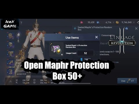 Lineage 2 Revolution Open Maphr Protection Box 50+