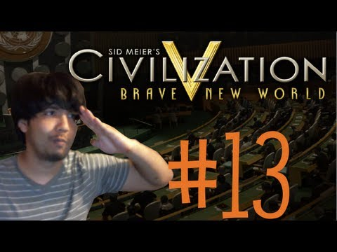 Mabi Vs Civilization V Brave New World #13 (Attila Is Hitting On Me...) |