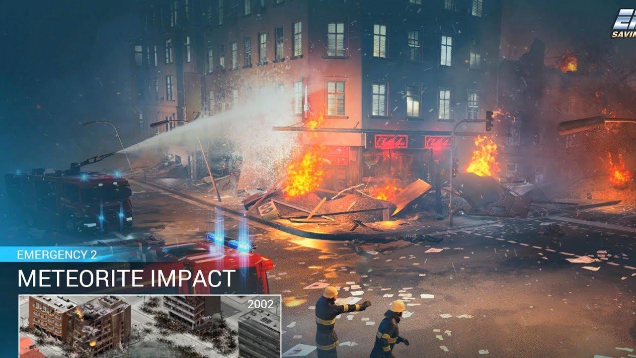 Emergency 20 (2018) - Meteorite Impact! Gameplay 4K