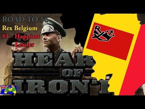 HOI4 Road to 56 - Rex Belgium #1 - Happiest Leader