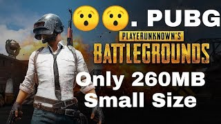 How to download PUBG game 260MB only | Hindi | Best Android game 2018 free fire,pubg,