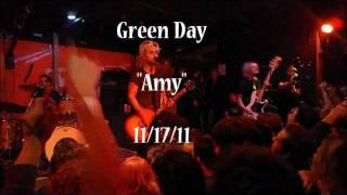 Green Day- Amy  (Red7 11/17) *Audio Only*